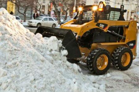 стоимость уборки снега