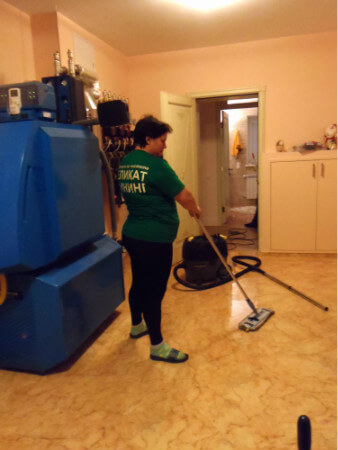 Комплексная уборка помещения