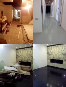 Уборка помещения после строительных работ