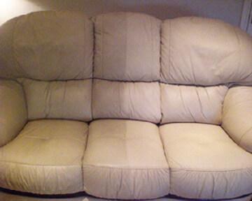 химчистка кожаного дивана на дому