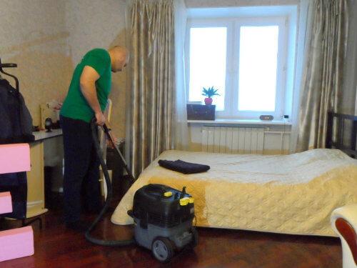 поддерживающая уборка дома спб