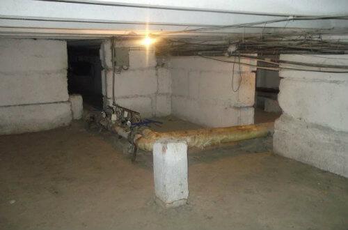 уборка подвальных помещений